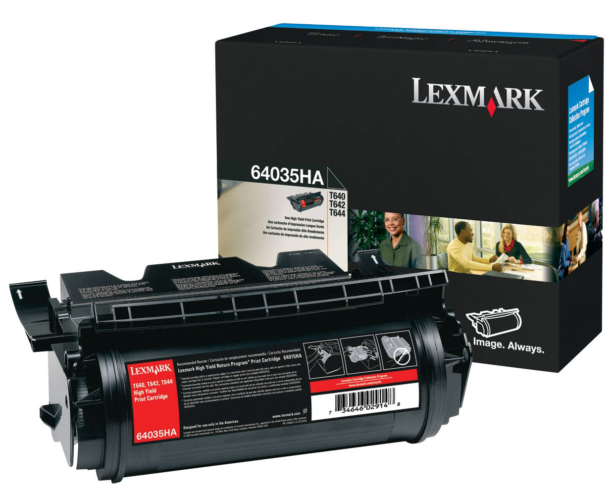 Lexmark 64035HA  printer cartridge
