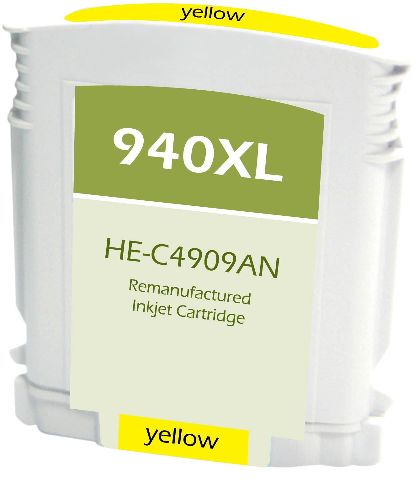 C4905AN Ink /& Toner USA Remanufactured Inkjet Replacement for HP C4909AN Yellow Works with: OfficeJet Pro 8000 8500 HP 940XL Yellow