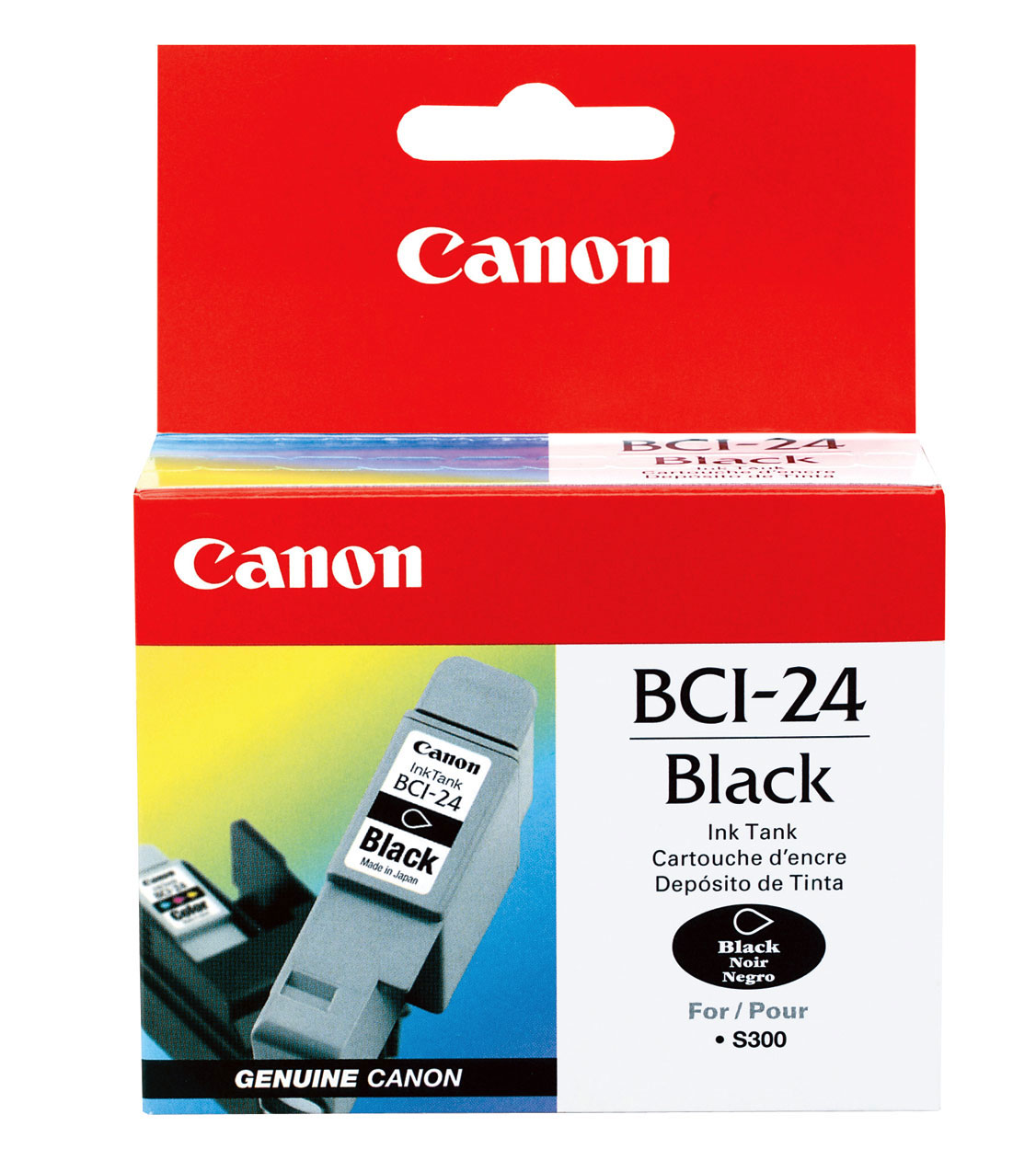 Canon Ink Cartridges Print Tinta Black Noir 1 Liter Bci 24b